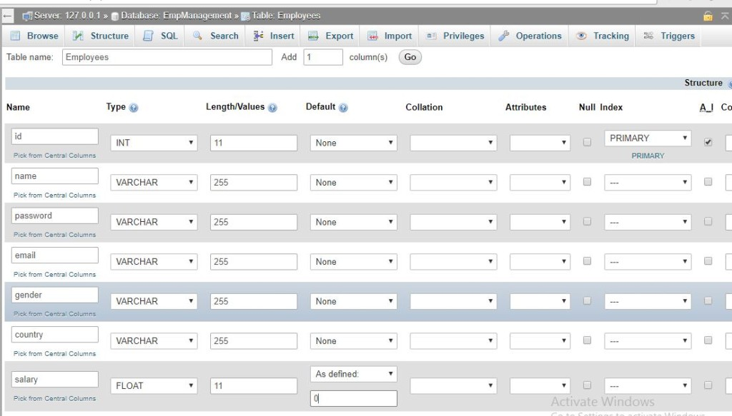 JSP CRUD Example | W3Schools | Tutorialspoint | W3Adda