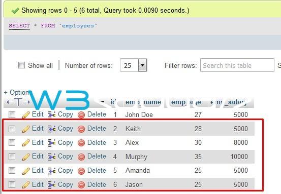 Node.js MySQL Insert Records 4