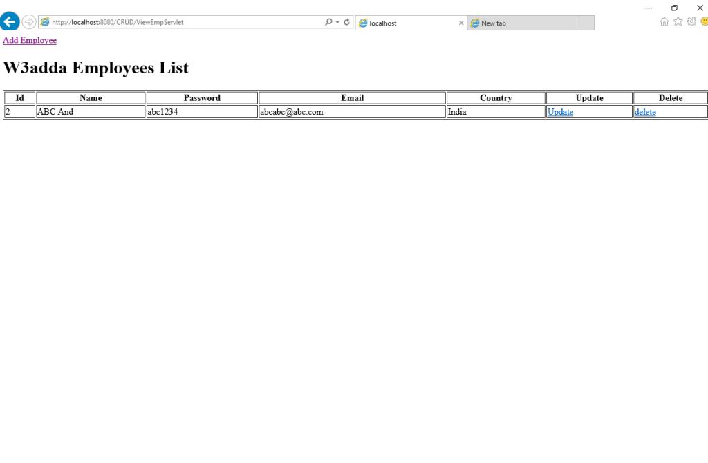 Delete All Row From Table Mysql W3schools CST 250 MySQL