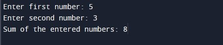 C-Program-to-Add-Two-Numbers