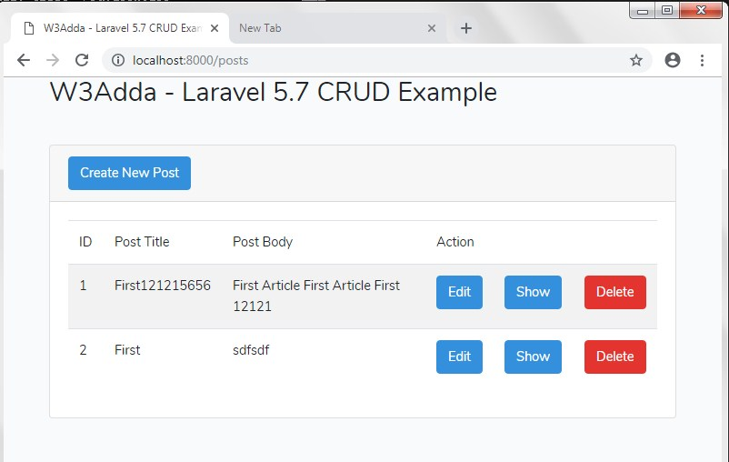 Laravel 5 7 CRUD Example   Step By Step Tutorial For Beginners