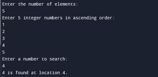 Jump Search Algorithm